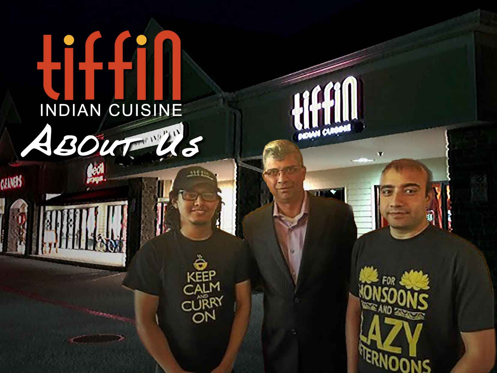 About  tiffin indian Cuisine