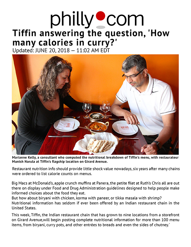 Tiffin answering the question, 'How