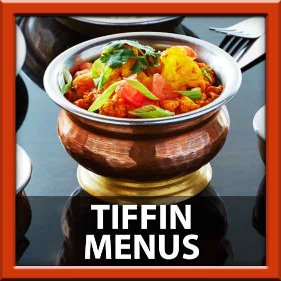 Tiffin Indian Cuisine Menu East Hanover Township Morris County 07936 delivery to Livingston Whippany Essex Falls Roseland Florham Park Morehousetown